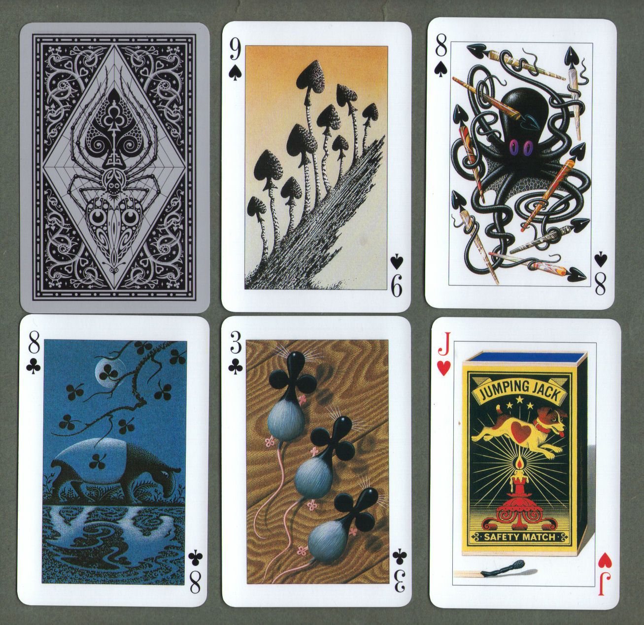 collectable playing cards